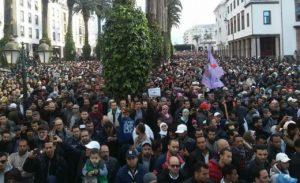 """هذا ما قاله """"الرغيوي"""" حول دواعي إضراب 20 فبراير ومسيرة الرباط"""