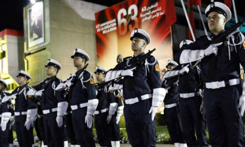 Commémoration du 63ème anniversaire de la Sûreté Nationale.