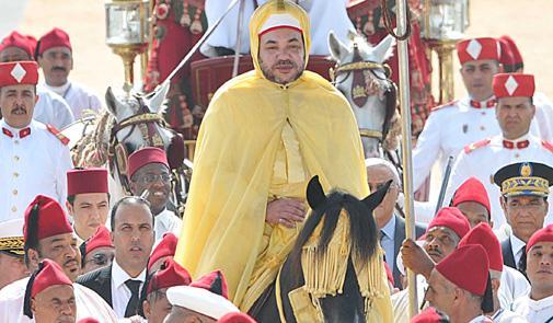 """""""الحمامة البيضاء"""" تحتضن احتفالات الذكرى العشرين لعيد العرش المجيد"""