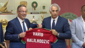 """تنصيب البوسني """"وحيد خليلوزيتش"""" مدربا للمنتخب الوطني لكرة القدم"""