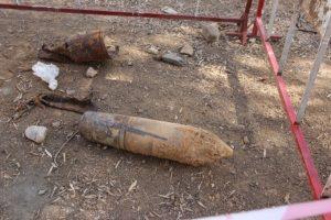 """مهندسون عسكريون يفجرون """"قذيفة قديمة"""" عثر عليها في تاونات"""