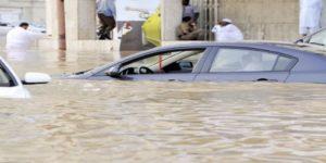 سقوط 7 قتلى و إصابة 11 شخص بالسعودية جراء الأمطار الغزيرة