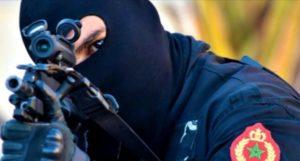 """خطير..إطلاق الرصاص لتوقيف """"داعشي"""" خرق حالة الطوارئ وحاول قتل شرطي بأبي الجعد"""