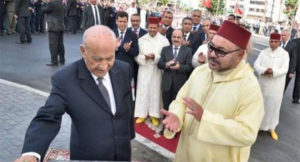 """الملك محمد السادس يعزي في وفاة المجاهد """"عبد الرحمن اليوسفي"""""""