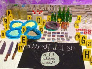 توقيف ثلاثة متطرفين يشتبه في ارتباطهم بخلية إرهابية موالية لداعش