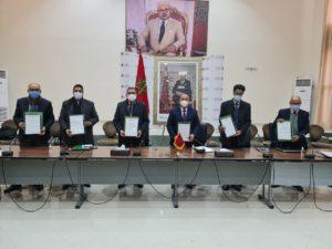 توقيع ميثاق التعاقد حول برنامج العمل برسم سنة 2021 بين أكاديمية بني ملال خنيفرة و المديريات الإقليمية.