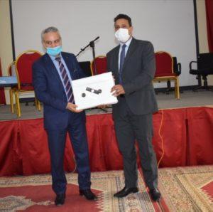 المديرية الاقليمية لوزارة التربية و التكوين بخريبكة تكرم مديرها الاقليمي السابق محمد قزيري