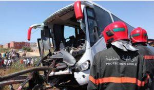 14 قتيلا و 2167 جريحا حصيلة حوادث السير بالمناطق الحضرية خلال الأسبوع الماضي