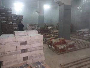 Khénifra / Moulay Bouazza.. Saisie de 24 tonnes de denrées alimentaires et de produits de nettoyage périmés