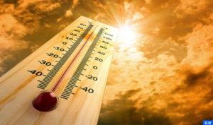 موجة حرارة مرتفعة ابتداء من اليوم الخميس الي غاية يوم السبت