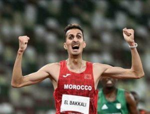 العداء سفيان البقالي يمنح اول ميدالية ذهبية للمغرب باولمبياد طوكيو