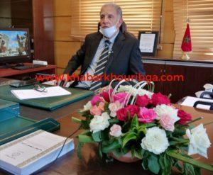تنصيب السيد عبد اللطيف عبيد رئيس اول لاستئنافية خريبكة